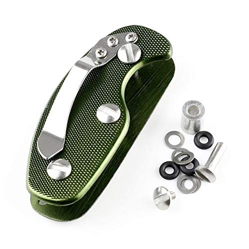 SHIJING Gear Organizer Ordner Clamp Pocket Collector Gadget Außenlager Smart Bar Clip Kit Multi-Tool Schlüssel Schlüsselbund Halter,1