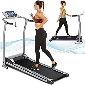 Aceshin Folding Treadmill with LCD Monitor