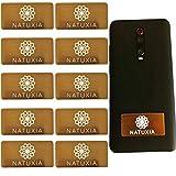 Natuxia Strahlenschutz Handy Aufkleber, Strahlung Abschirmung, Elektrosmog Neutralisierer für WLAN, Laptop, Handy (10 Pack)