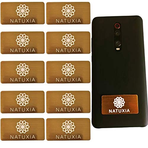 Natuxia Anti-straling Sticker, EMF Neutralizer, Alle Mobiele Telefoons EMF Schild, Smartphone Stralingsbescherming Stickers