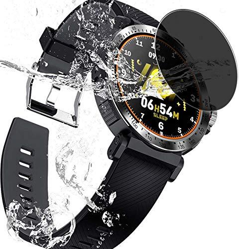 Vaxson Protector de Pantalla de Privacidad, compatible con Smartwatch Smart Watch K18 [no vidrio templado] TPU Película Protectora Anti Espía
