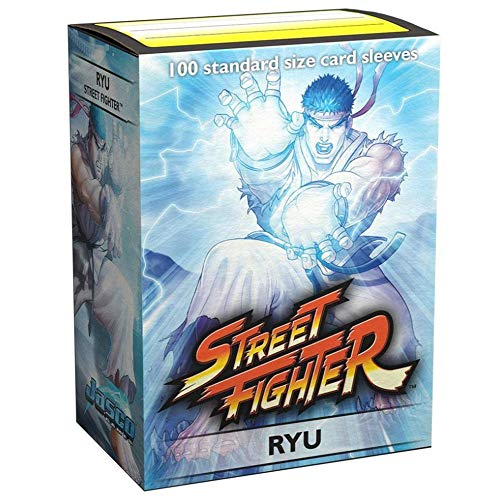 Arcane Tinmen Dragon Shield: Street Fighter 'Ryu' - Art Classic Card Sleeves (100ct)
