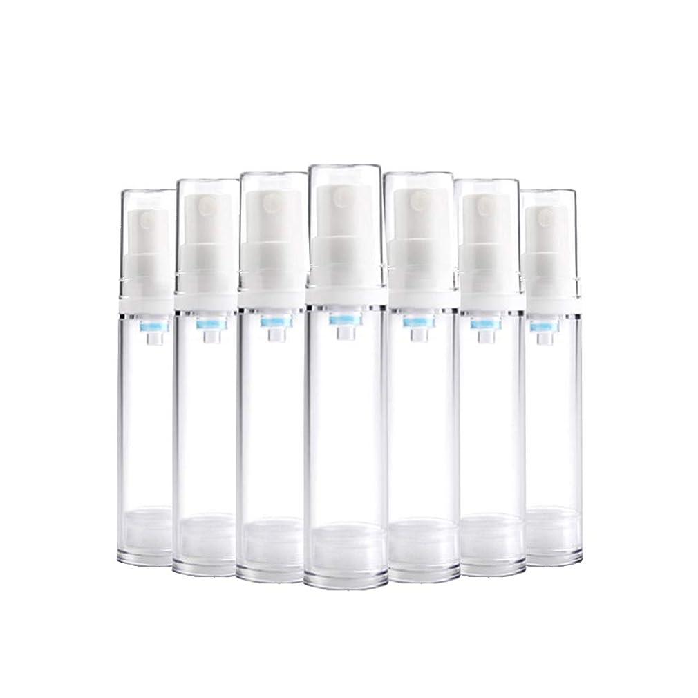ツール絶望的な騙す6 PCS熱望透明プラスチックエアロゾルスプレーボトルエアレスポンプスプレーボトル 詰め替えファインミストエアレススプレー(15ml 30ml) BPAフリー - 30 ml