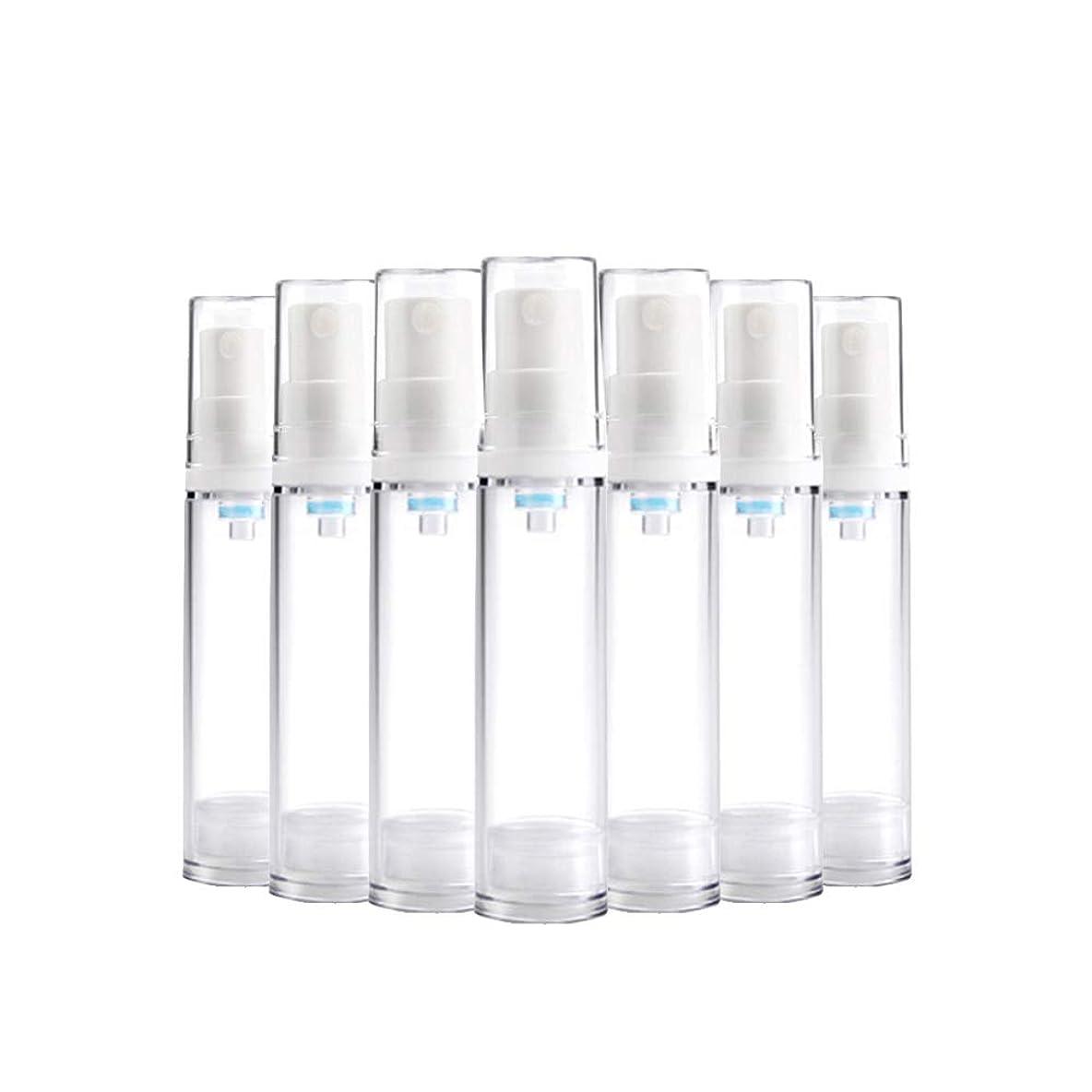 騒々しい無実引っ張る6 PCS Aspireトランスペアレントプラスチックエアロゾルスプレーボトルエアレスポンプスプレーボトル 詰め替え可能なファインミストエアレススプレー(15ml 30ml) - 30 ml