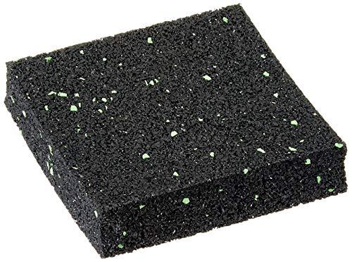 25 Stück 20 mm 90 x 90 mm Terrassenpad, Terrassenpads aus Gummi – Unterlagepads für die Unterkonstruktion ihrer Terrassen Balkon oder Gartenhütte