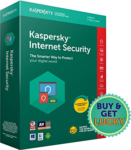 Kaspersky Internet Security Latest Version – 1 PC, 3 Years (CD)