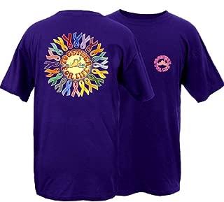 Ribbons Frog Adult Unisex Short Sleeve T-Shirt- Great Lightweight Cotton T-Shirt