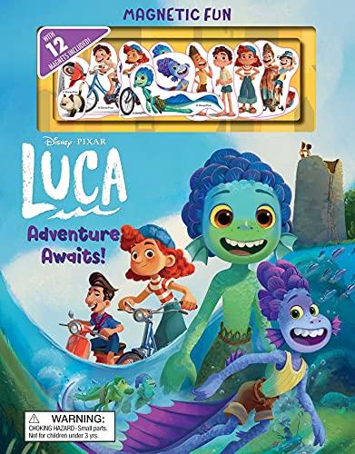 Disney Pixar: Luca: Adventure Awaits! (Magnetic Hardcover)