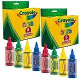 Crayola Hand Sanitizer for Kids, 8-Pack Antibacterial Gel Bottles for Back to School Supplies, 2 fl oz/ea (Pack of 2 x 8-Pack = 16 Units)