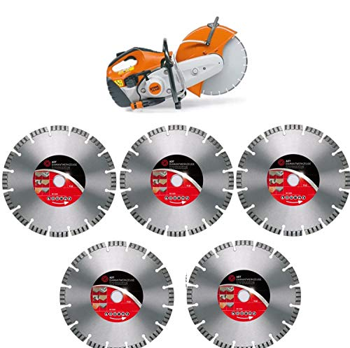 Stihl TS 700 Motortrenner incl 5x ADT Diamant-Trennscheiben