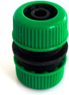 AKDSteel 12MM Garden Water Ho-se Connector Pipe Quick Connectors Joining Mender Repair Leaking Joiner Connector Adapter Au...