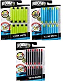 BOOMCO Bundle of 3 Smart Dart 16 Packs Styles May Vary