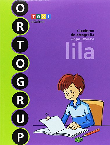 Ortogrup lila: Cuaderno de ortografia. Lengua castellana (ORTOGRUP - Quaderns d'ortografia) - 9788441230125