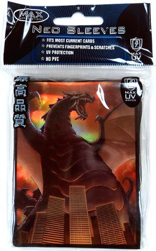 Max Protection Card Supplies Standard Card Sleeves Destructor 50 Count