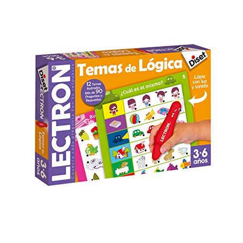 Diset 63882 - Lectron Lápiz temas de lógica - Juego educativo a partir de 3 años