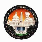 Weekino Washington D.C, Estados Unidos, América Imán de Nevera 3D Resina de la Ciudad de Viaje Recuerdo Colección de Regalo Fuerte Etiqueta Engomada refrigerador