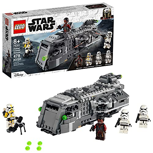 LEGO Star Wars Imperial Armored Marauder 75311 Awesome Toy Building Kit for Kids with Greef Karga and Stormtroopers; New 2021 (478 Pieces)