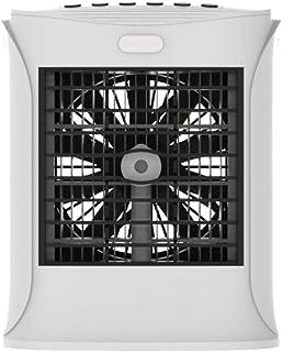 miremaster Aire Acondicionado portatil Humidificador de Enfriador de Audio Multifuncional Abs + PS + Silicona Led Lámpara de desinfección de luz púrpura Esterilizador doméstico (Blanco,Ordinario)