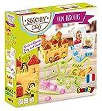 Smoby Chef - Fun Biscuits - Gâteaux en Forme de Châteaux + Livre de Recettes - Atelier de Cuisine Enfant - Dès 5 Ans - 312100