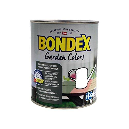 Terracotta-Farbe 2,5L (Kreide Weiss) Bondex Garden Colors
