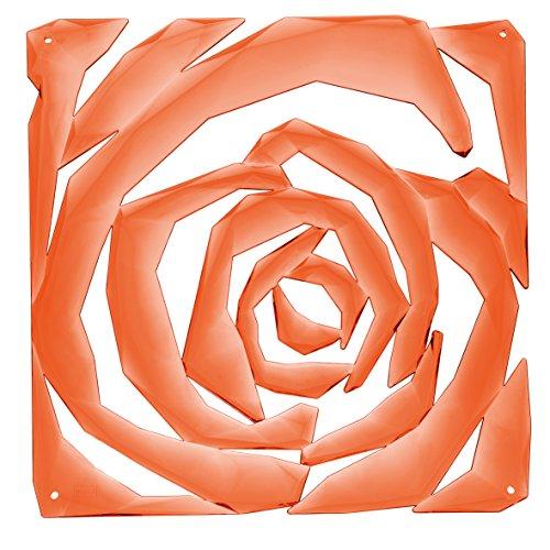 Koziol 2039509 Romance Lot de 4 séparateurs de pièce Orange Transparent