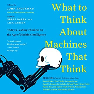 What Do You Think About Machines That Think? audiobook cover art