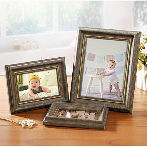KLily Retro-Stil Fotorahmen Ist Geeignet Für Nagelgeschäft Brautgeschäft Schöne Europäische Stil Fotorahmen 5 6 7 8 10 12 Zoll A4 Bilderrahmen Einstellung Tisch