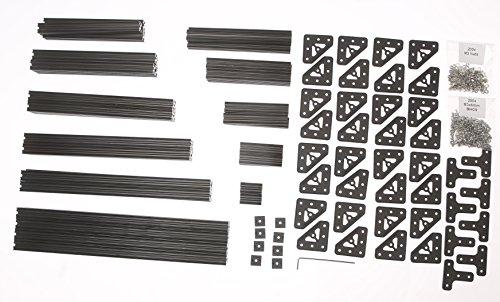 Eckw/ürfel f/ür MakerbeamXL 15x15mm und OpenBeam Set mit 12 St/ück schwarz