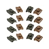 1/144 Alemán Vi Ausf. E Tiger Heavy Tank Model Toys 16x For Fans Collection