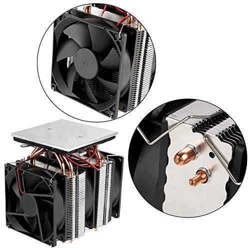 Halfgeleider koeling koelapparaat Thermo-elektrische koeler 12V 10A DIY Mini koelkast koeling koelsysteem