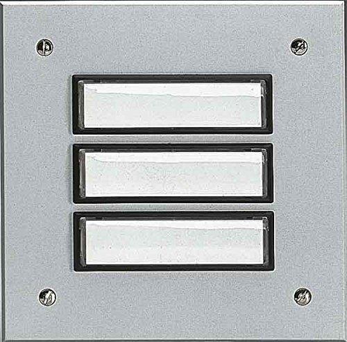 Grothe Etagenplatte ETA 802 EV1 Klingeltableau für Türkommunikation 4011459558024