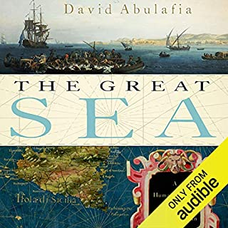 The Great Sea audiobook cover art