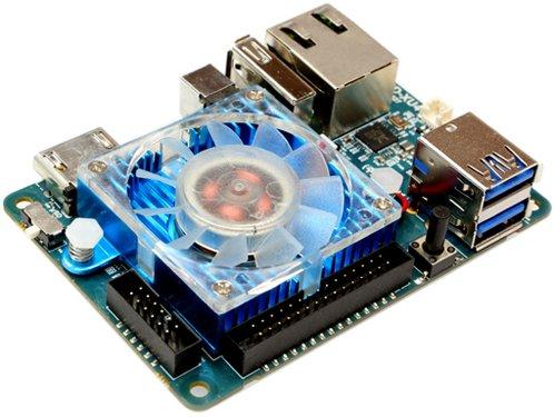 ODROID -XU4 con ventilador de refrigeración activo