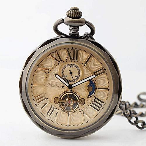 El Nuevo Reloj de Bolsillo mecánico automático, Hombres y Mujeres, Parejas, disfrazan Cientos de gráficos de Pared a Juego, Regalos navideños para Enviar a su Novia. Decorar Regalo para Padre.