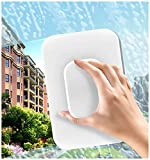 New Updated Magnetic Window CleanerDouble Sided,OutsideWindow Cleaner Tool (Glass Thickness (0.6-1In))