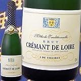 ヴーヴ・アミオ・ジェイ・デ・ヴィラレ・クレマン・ド・ロワール・ブリュット フランス 白スパークリングワイン 750ml 辛口