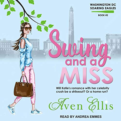 Swing and a Miss     Washington DC Soaring Eagles Series, Book 2              By:                                                                                                                                 Aven Ellis                               Narrated by:                                                                                                                                 Andrea Emmes                      Length: 8 hrs and 51 mins     1 rating     Overall 5.0