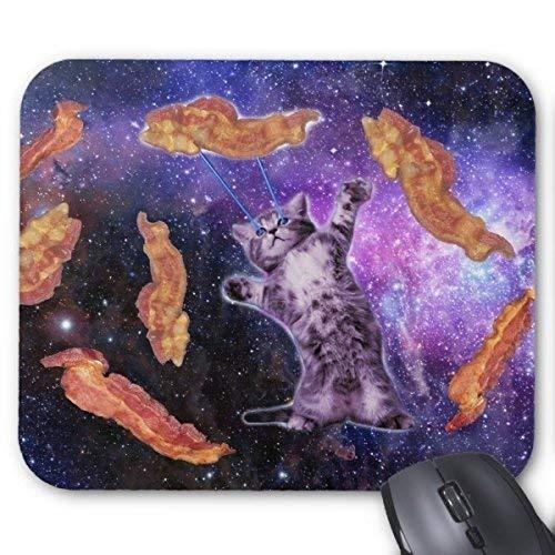 Gaming-Mauspad Cat Frying Bacon mit Augenlaser-Mauspad 300X250X3mm
