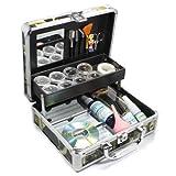 Black Friday and Cyber Monday Sales! New Professional Eyelash Extension False Eye Lash Full Kit Set with Fashion Hard Case Suitcase A150