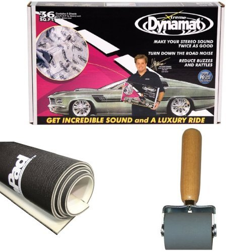 Dynamat 18' x 32' x 0.067' Thick Self-Adhesive Sound Deadener Kit