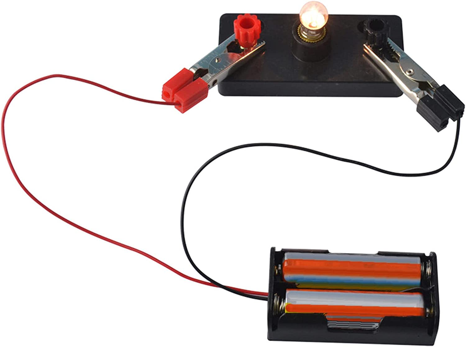 1Set Electrical Circuit Experiment Kit Physics for Max 51% OFF Expe Fun Kids Attention brand