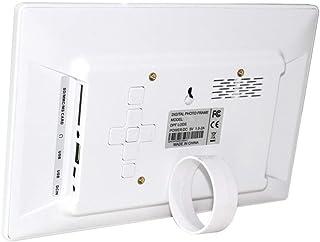 "HUALEIYUAN AU 10.1"" HD Digital Photo Frame Picture Mult-Media Player MP3 MP4 Alarm Clock for Gift Digital Frame (Color : W..."