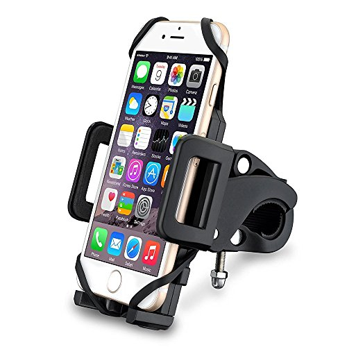 Soporte de Móvil para Bicicletas y Motos Universal Ultra Estable de VicTsing, con una sujeción perfecta y 360 Rotación para todos los moviles HUAWEI,XIAOMI, iPhone,Galaxy etc