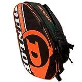 Dunlop - Borsa per Racchette da Paddle Tour Intro Nero/Arancione Fluo