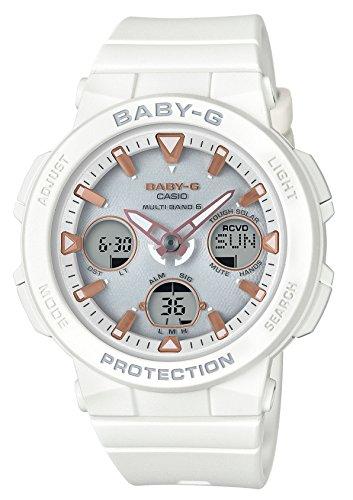 [カシオ] 腕時計 ベビージー BEACH TRAVELER 電波ソーラー BGA-2500-7AJF レディース ホワイト