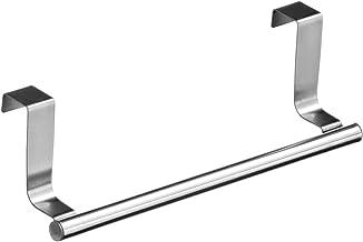 """Over Door Tea Towel Holder Rack Rail Cupboard Hanger Kitchen Bar Hook Bathroom (Large(14.2""""))"""