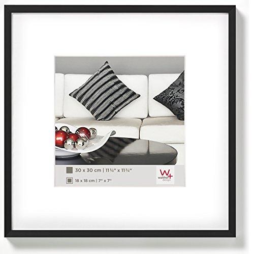 Walther Design Chair Marco de Fotos de Aluminio, Negro,...