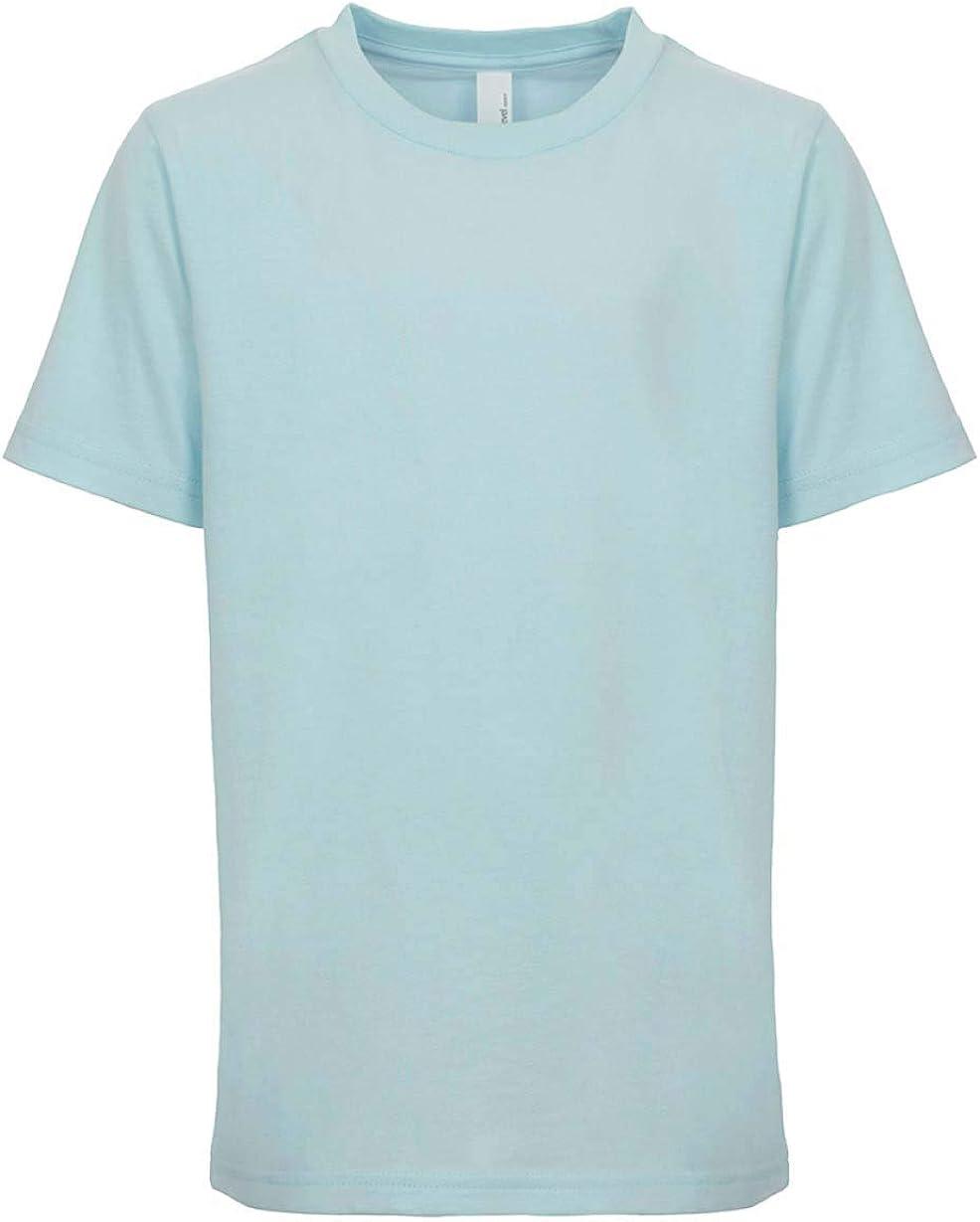 Next Level Kids Crew Neck T-Shirt Light Blue M