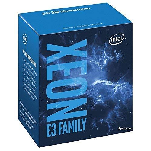 Intel BX80662E31220V5 - Procesador Intel Xeon E3-1220 v5, Socket LGA 1151 (3 GHz, 3.5 GHz Turbo, 8 MB Smart Cache, Ventilador) (Reacondicionado)