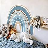 YIBOKANG Regenbogenparadies Selbstklebende Wandkleben Baby Kinderzimmer Schlafzimmer Wohnzimmer Arrangiert Niedliche Kreative Regenbogen Wandstange
